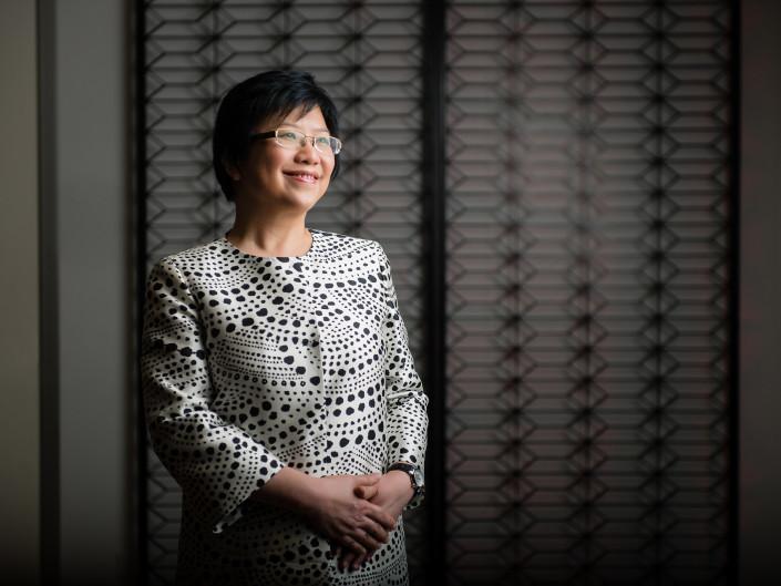 Chng Sok Hui, CFO of DBS Bank