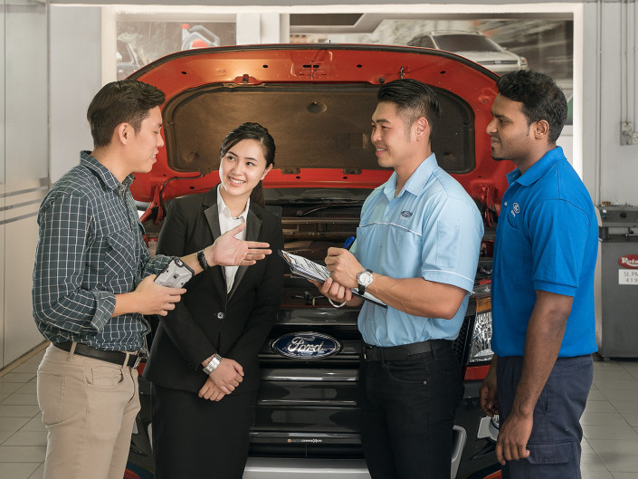 Ford Service Team